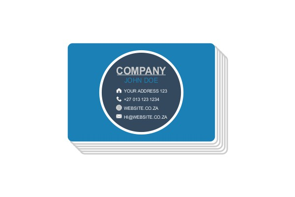Business Cards Digital Printing iDOproductions signage, printing and embroidery Nelspruit