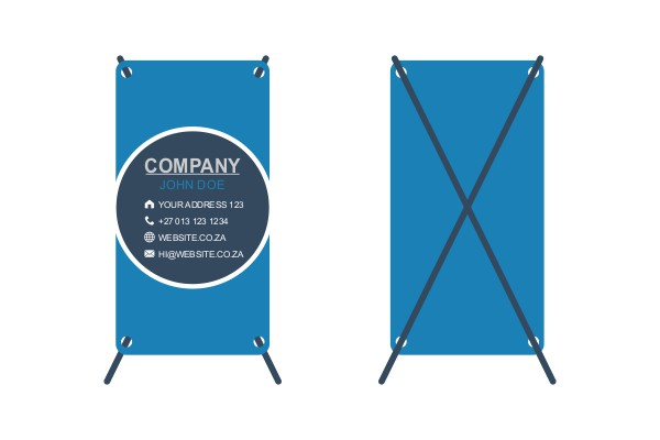Banner XFrame Print Digital Print iDOproductions signage, printing and embroidery Nelspruit