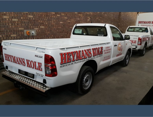 Heymans Kole – Vehicle Branding