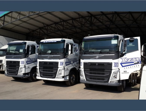 Izusa Carriers Fleet Truck Branding