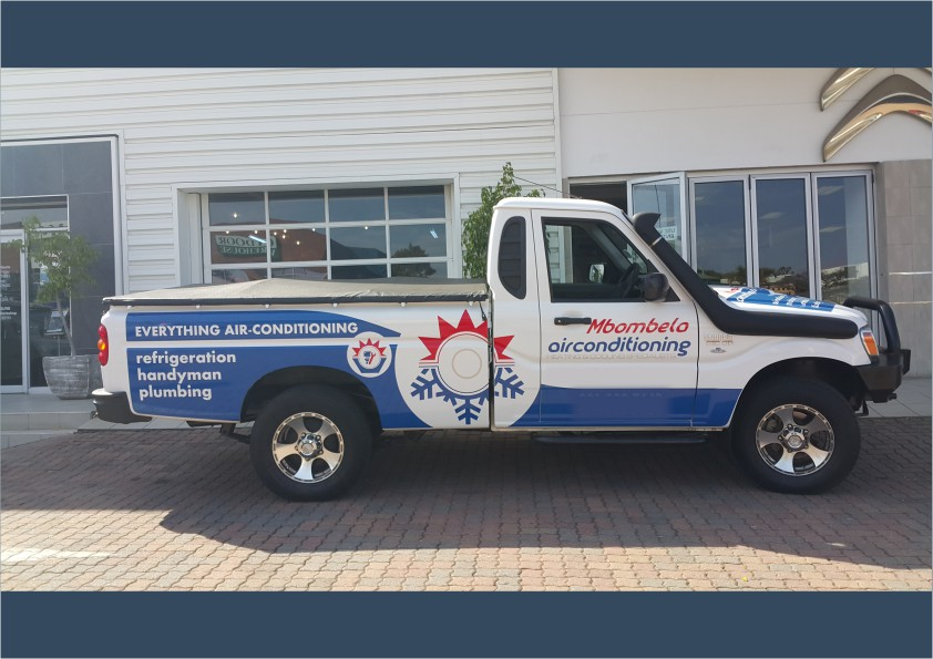Bakkie Branding Cut-out vinyl iDOproductions Nelspruit
