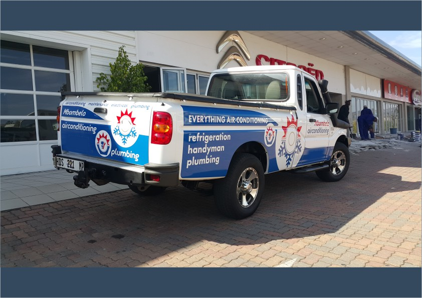 Bakkie Branding Cut-out vinyl (iDOproductions Nelspruit)
