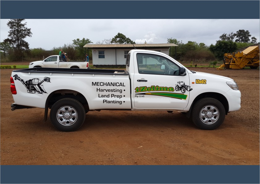 Bakkie Fleet Branding Cut-out vinyl (iDOproductions Nelspruit)